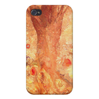 Buddha in His Youth by Redon:  iPhone 4 Cover