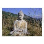 Buddha in Italian Meadow Cards