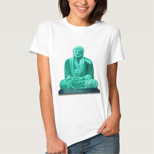 Buddha in Jade T-shirts