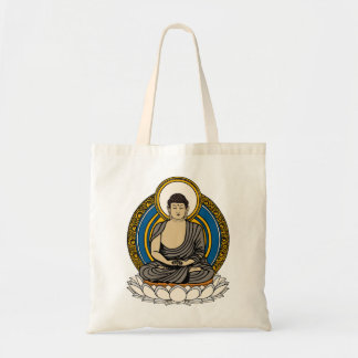 Buddha in Meditation Dhyana Mudra Tote Bag