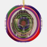 BUDDHA in meditation Master Teacher Saint Guru FUN Christmas Tree Ornament