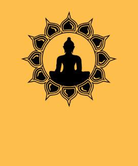Buddha in of Lotus - meditation, enlightenment T Shirts