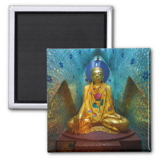 Buddha In Ornate Alcove Magnet