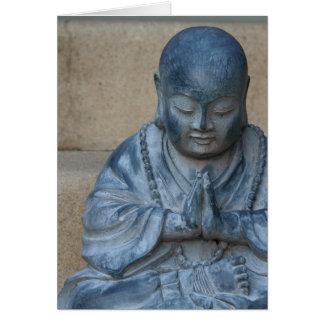 Buddha in Prayer Card