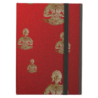 buddha in red cover for iPad air