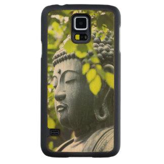 Buddha in Senso-ji Temple Garden Carved Maple Galaxy S5 Case