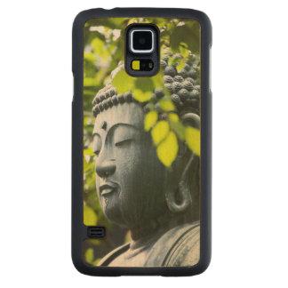 Buddha in Senso-ji Temple Garden Carved Maple Galaxy S5 Slim Case