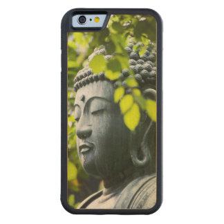 Buddha in Senso-ji Temple Garden Carved Maple iPhone 6 Bumper Case