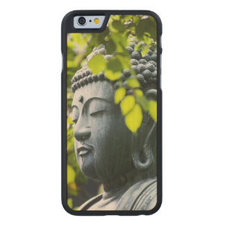 Buddha in Senso-ji Temple Garden Carved Maple iPhone 6 Slim Case