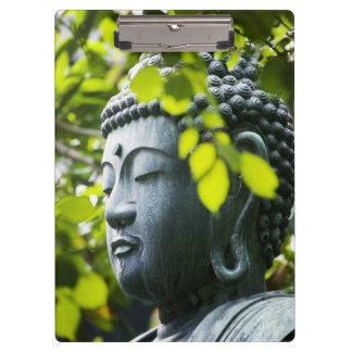 Buddha in Senso-ji Temple Garden Clipboard