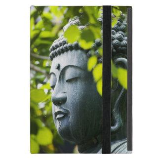Buddha in Senso-ji Temple Garden Cover For iPad Mini