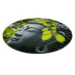 Buddha in Senso-ji Temple Garden Cutting Board