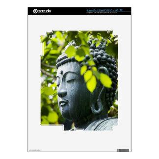 Buddha in Senso-ji Temple Garden iPad 3 Skins