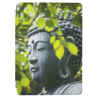 Buddha in Senso-ji Temple Garden iPad Air Cover