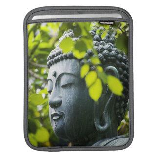 Buddha in Senso-ji Temple Garden iPad Sleeve