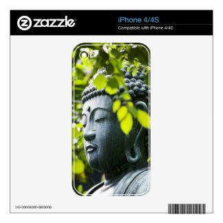 Buddha in Senso-ji Temple Garden iPhone 4S Decal