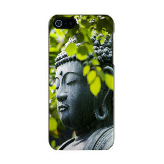 Buddha in Senso-ji Temple Garden Metallic iPhone SE/5/5s Case