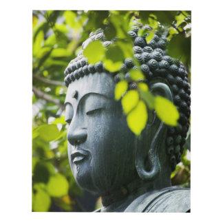 Buddha in Senso-ji Temple Garden Panel Wall Art
