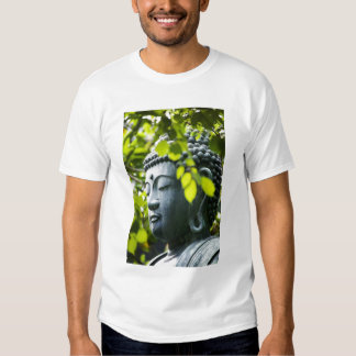 Buddha in Senso-ji Temple Garden Shirts