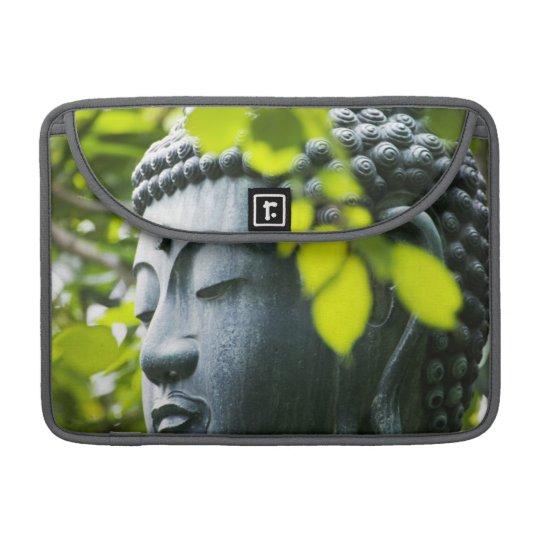 Buddha in Senso-ji Temple Garden Sleeve For MacBook Pro
