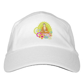 Buddha in Spring Flowers Hat