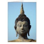 Buddha in Sukhothai Thailand-Blank Card