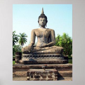 Buddha in Thailand Print