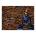Buddha in the Forest Print