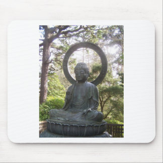 Buddha in the Japanese Tea Garden Mouse Pad