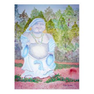 Buddha in the Morning Postcard