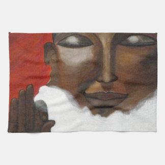 Buddha in the sky hand towel