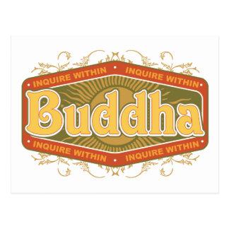 Buddha Inquire Within Postcard