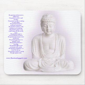 Buddha Inspiration Pad Mouse Pad