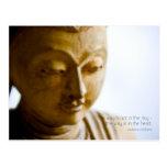 Buddha • Inspirational Postcard