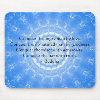 Buddha Inspirational Words of Wisdom  QUOTE Mouse Pad