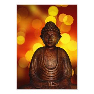 "Buddha 5"" X 7"" Invitation Card"