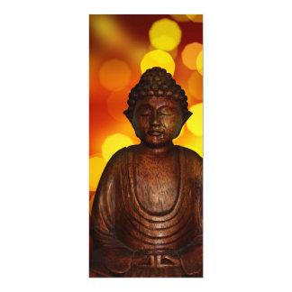 "Buddha 4"" X 9.25"" Invitation Card"
