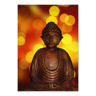 "Buddha 3.5"" X 5"" Invitation Card"
