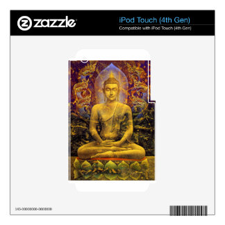 Buddha iPod Touch 4G Decal