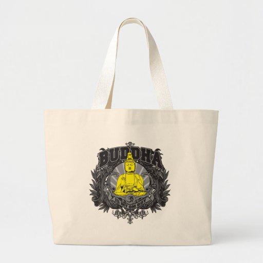 Buddha Is My Om Boy Canvas Bags
