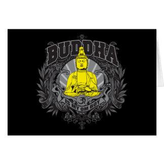 Buddha Is My Om Boy Card
