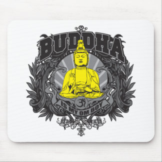 Buddha Is My Om Boy Mouse Pad