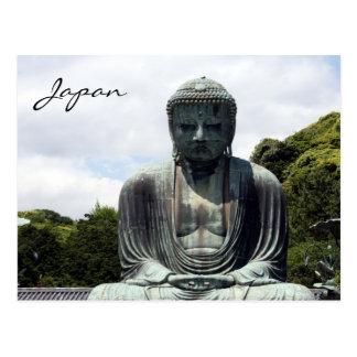 buddha japan postcard
