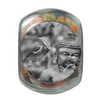 Buddha Jelly Belly Candy Jar