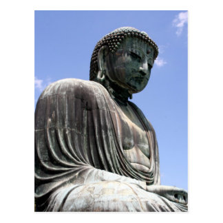 buddha kamakura postcard