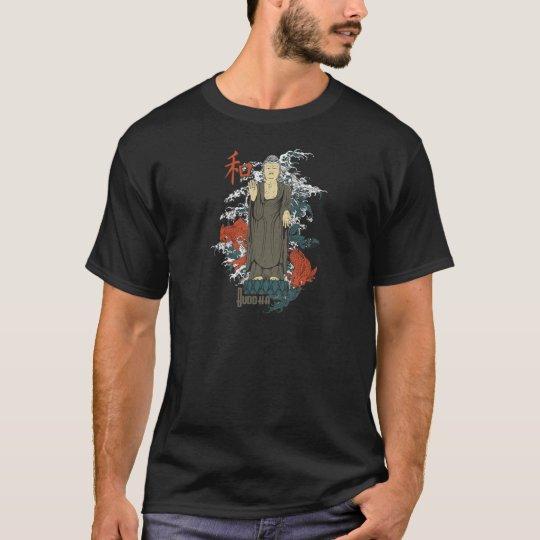Buddha, Kanji and Koi Fish T-Shirt