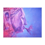 Buddha Kiss Stretched Canvas Prints