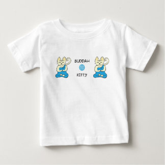 Buddha Kitty and Shau Baby T-Shirt