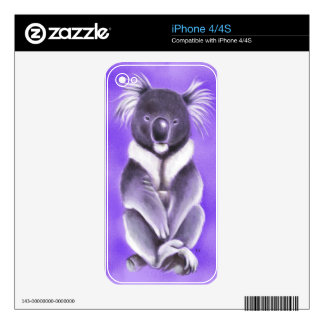 Buddha koala skin for the iPhone 4S