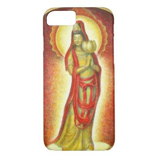 Buddha Kuan Yin Golden Lotus iPhone 7 Case